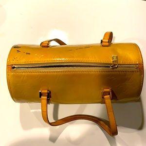 Louis Vuitton Bedford Yellow Shiny Purse